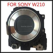 100% оригинальный новый объектив Zoom для Sony CyberShot DSC-W210 W210 цифровой Камера Ремонт Часть Нет CCD
