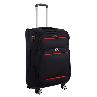 Wholesale!!!20 24inch oxford comercial travel luggage bags on universal wheels,black/red/purpler/grey/brown luggage for men