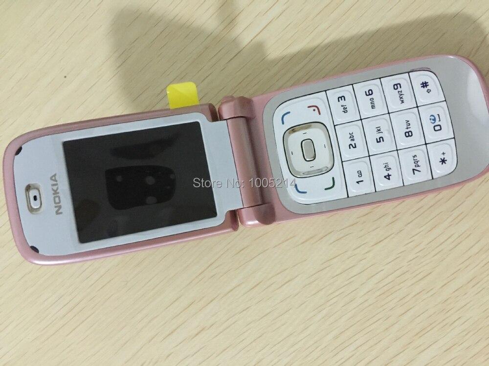 משלוח חינם סמארטפון 6131 המקורי טלפון נייד Nokia 6131 זולים GSM המצלמה FM Bluetooth באיכות טובה טלפון רב קלידים