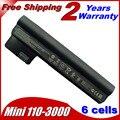 5200 мА*ч Батарея  для ноутбука HP/COMPAQ Mini 110-3000 CQ10 CQ10-400 CQ10-500 607763-001 607762-001 HSTNN-DB1U HSTNN-E04C HSTNN-06TY