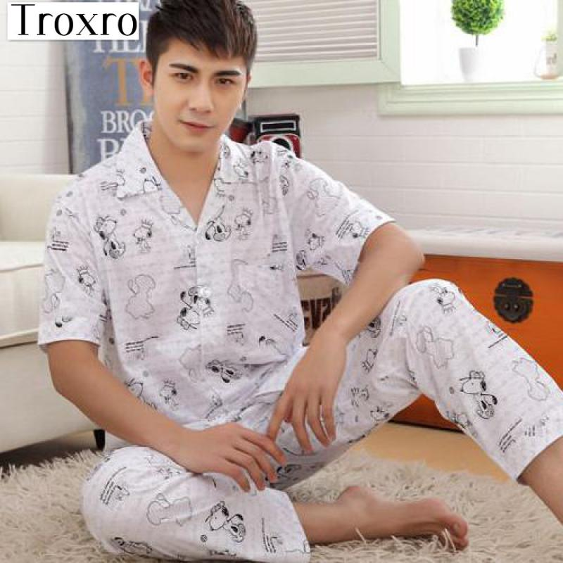 competitive price a4914 39adc Pyjamas Hommes Impression Pyjama Homme Moderne Hommes Lounge ...