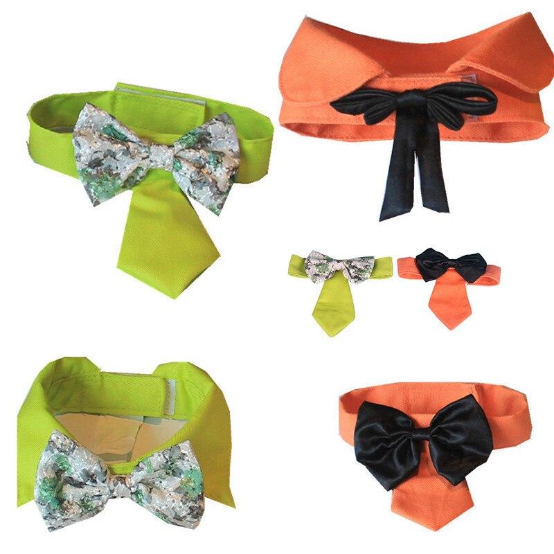 New Qualified 1pcs Multicolor Dog Neck Tie Dog Bow Tie Cat Tie Pet Grooming Supplies Pet Headdress Levert Dropship m