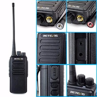 vhf uhf 10W מקצועי מכשיר הקשר Retevis RT1 VHF (UHF) 16CH 3000mAh סוללה VOX סריקה מערבל 1750Hz Tone 2 אנטנה ווקי טוקי (2)