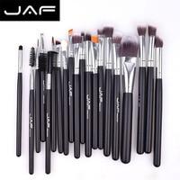 JAF JE20SSY B 20pcs Makeup Brushes Set Face Eye Shadow Foundation Blush Blending Lip Make Up