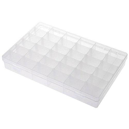 Organizador 36 Compartimento Plstico Bisutera Ajustable - Home Storage und Organisation - Foto 3