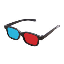 Fansaco Red Blue 3D Glasses Anaglyph 3D Plastic For 3D Movie Game DVD Vision Cinema Red-Blue Vitural Reality Glasses(China)