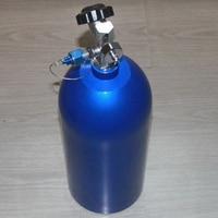 10 # Nitrous Flasche mit High Flow Ventil        1 stücke-in Salpeter & Teile aus Kraftfahrzeuge und Motorräder bei