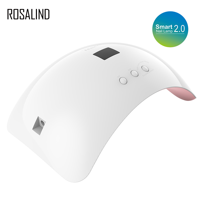 ROSALIND Nail Dryer SUN8 LED Nail Dryer 48W Lamp For Manicure Unique Low Heat Mode Nail Gel Dryer For Nail Polish Art Tools