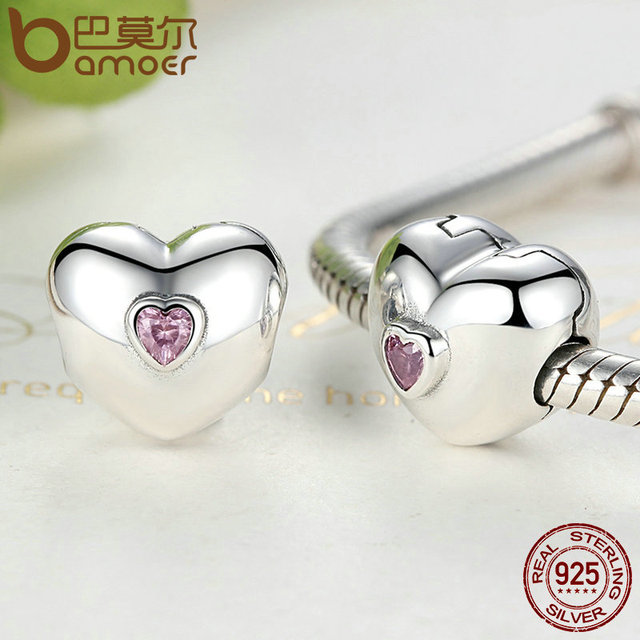Sterling Silver Steady Heart Charm