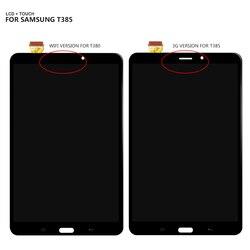 Do Samsung Galaxy TAB A 8.0 2017 SM-T385 SM-T380 T385 T380 wyświetlacz LCD ekran dotykowy szkło Digitizer zgromadzenie + darmowe narzędzia