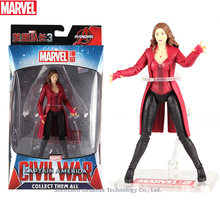 Hasbro Marvel Toys The Avenger Endgame 17CM Super Hero Thor Scarlet Witch Wolverine Spider Man Iron Man Action Figure Toy Dolls marvel toys the avenger infinity war super hero spider man pvc action figure toy dolls xd340