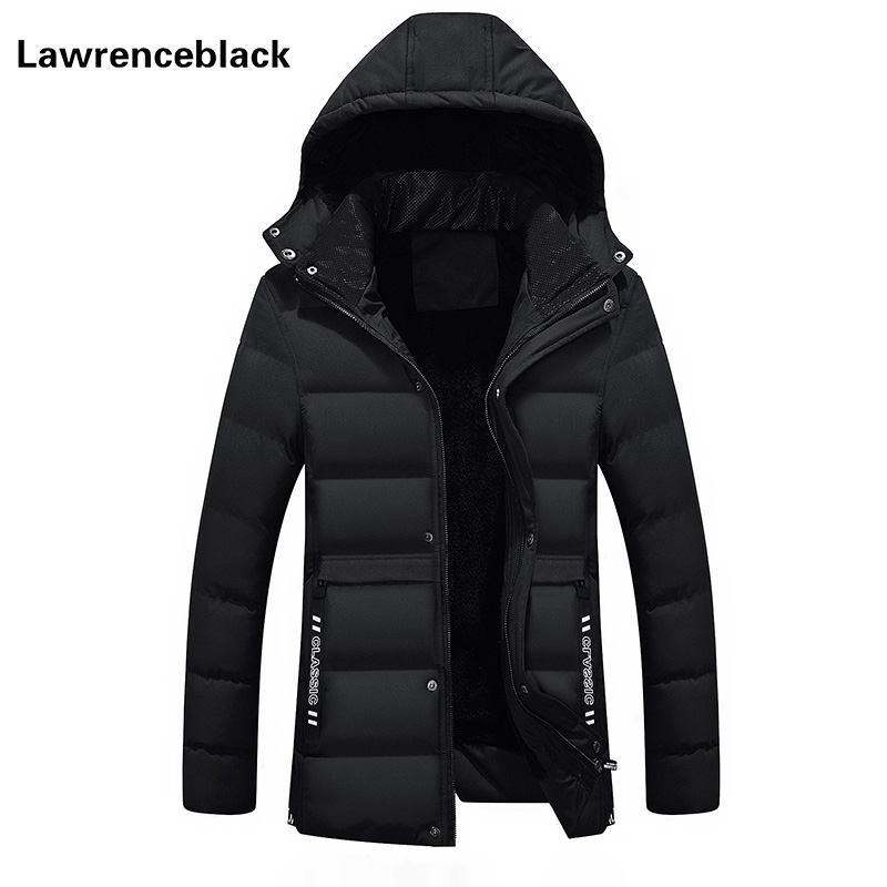 Men Winter Coat Wadded Thick Warm Hooded Parka Mens Down Jackets Brand Male Overcoat High Quality Coats Plus Size Overcoat 861 2016 new high quality brand men winter cotton down jacket coat parka clothing men and women hooded warm outerwear overcoat