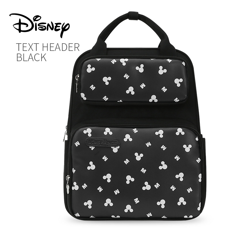 Disney Large Capacity Mummy Bag Baby Mickey Mouse Diaper Bag Travel Backpack Nursing Bags For Baby Mother Maternity Nappy Bags