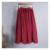 2017 marca casuais mulheres lençóis de algodão saias longas de cintura elástica saias faldas saia bolso do vintage verão