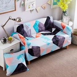 Geometic с цветочным принтом упругой все включено углу чехлов диван обложка съемные спандекс стрейч защитный чехол для дивана