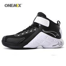 ONEMIX EU40-46 最新の男性バスケットボールシューズ男性アンクルブーツ抗スリップ屋外アスレチックスポーツシューズ男性スニーカーサイズ