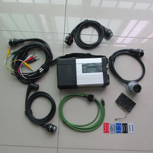 2017 new wifi mb star c5 multiplexer with 5 cables for mb trucks and cars diagnostic tool