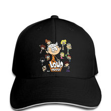 newest 16575 4ac74 Men Baseball cap Cover Loud House Kids Art Design funny Hat novelty  tsnapback women(China. 32 Colors Available