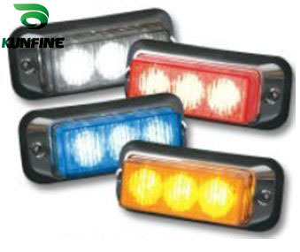 100% water-proof  LED strobe light 3*1W High Power LEDs led warning light With flash Patterns KF-L3002
