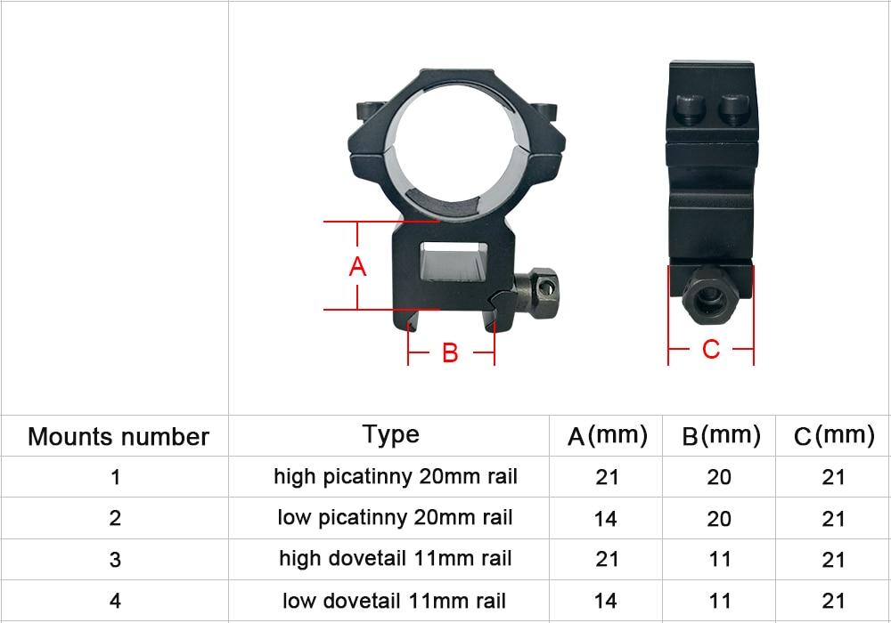 DISCOVERY VT-R 3-12X42SFIR Mil Dot Optics Hunting Rifle Scope Sight for Air Gun