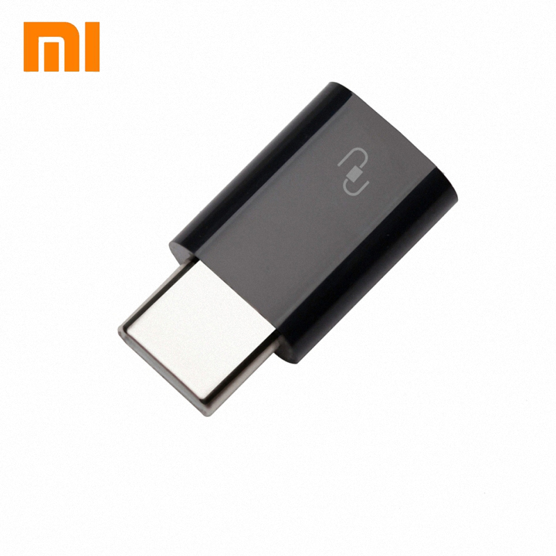 Original Xiaomi USB Type-C Adapter USB 3.1 Type-C Male to Micro USB Female USB-C Cable Adapter Type C Converter drop shipping