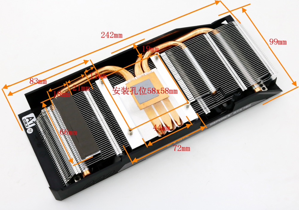Neue Lufter Fur EVGA GTX760SC mit kuhlkorper