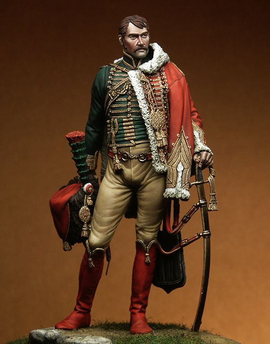 1/18 90MM Captain Isidore Martin Man Soldier 90MM   Resin Model Miniature Gk Unassembly Unpainted