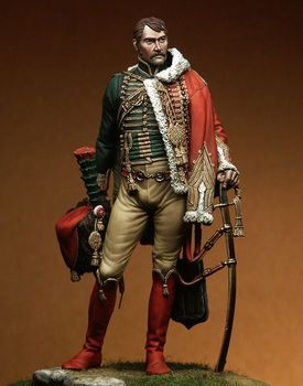 1/18 90MM Captain Isidore Martin man soldier 90MM Resin Model Miniature gk Unassembly Unpainted фото