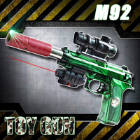 Infrared Water Bullet M92 Toy Guns The Coolest Gift Air Gun Green Sports Entertainment Airsoft Air