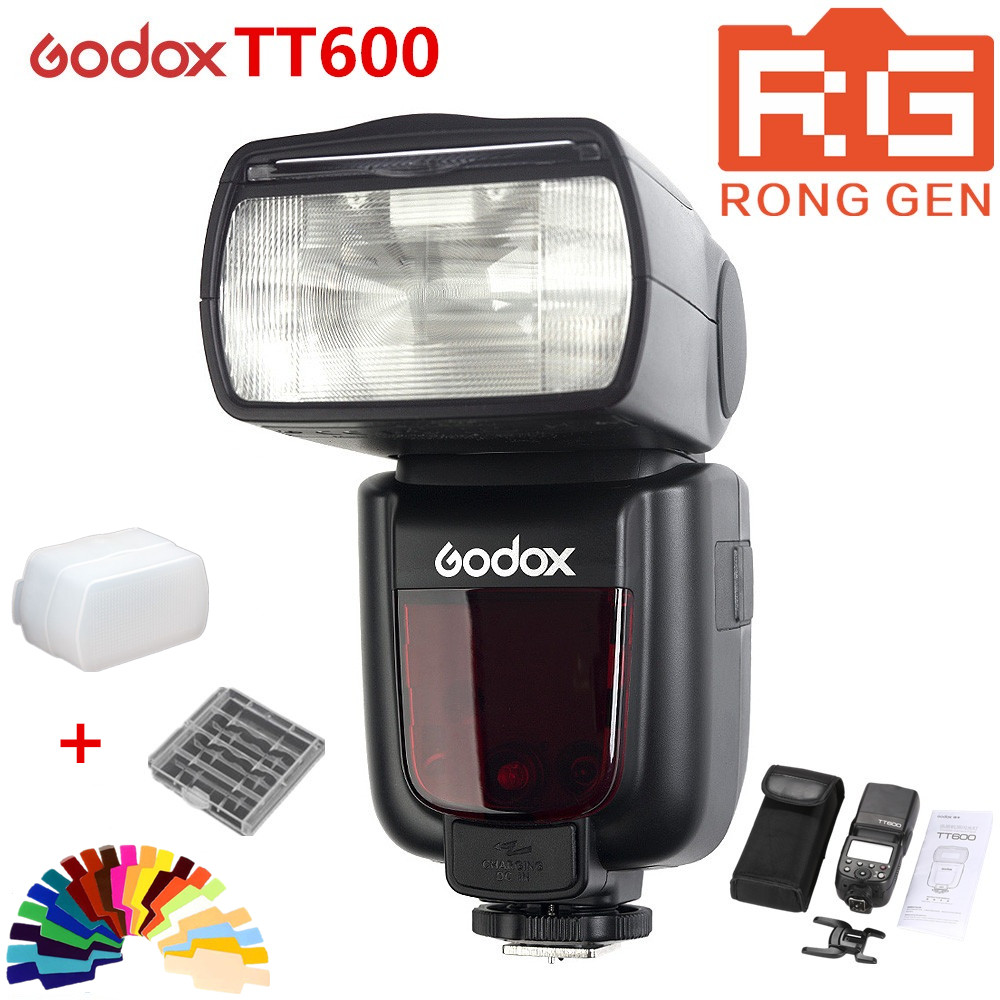 Original Godox Thinklite TT600 2.4G Wireless GN60 Master/Slave Camera Flash Speedlite for Canon Nikon Pentax Olympus Fujifilm godox thinklite tt600 flash speedlite for canon nikon pentax olympus fujifilm with a built in 2 4 g wireless trigger system gn60