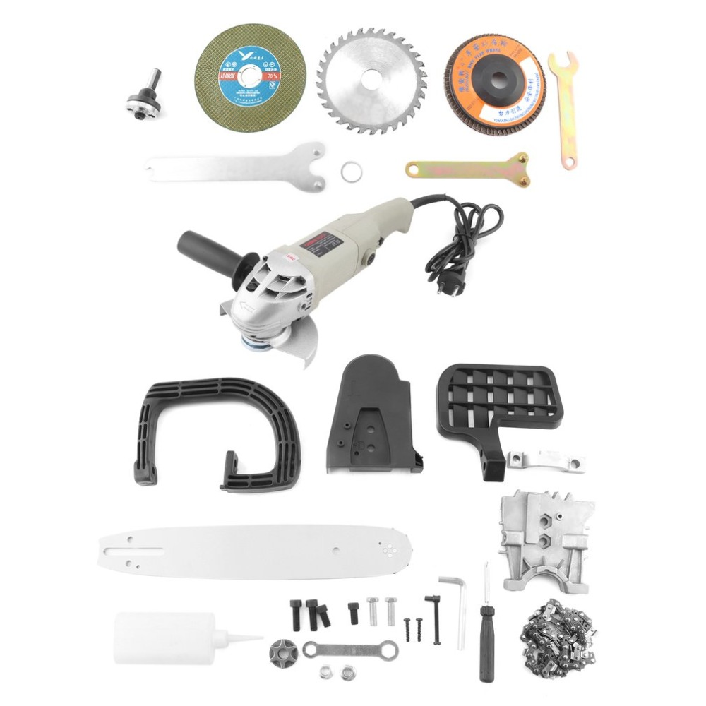 125mm Diameter Electric Angle Grinder 180 Degree Rotatable Handle Polisher Professional Grinding Machine Electric Hand Mill fast shipping at3139 180 polisher multifunctional a tractor serves several purposes angle grinder cutting wheel electric