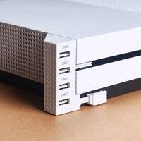 4 Порты и разъёмы USB Hub 2,0 для Xbox One Slim-4 Порты USB разветвитель расширения адаптер для microsoft XB1 S