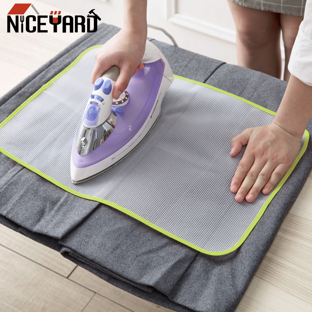 Steam Iron Ironing Pad Protective Insulation Clothes Protector Cover Colorful