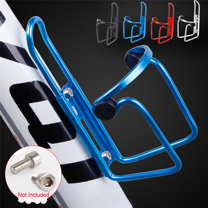 Geila Ultra-Light Alloy Aluminum Universal Bike Water Bottle Cages Cycling Kettle Holder Cage Bracket Mountain Bicycle Water Bottle Holder Bracket Drink Water Bottle Cage Holder