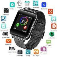 BANGWEI 2018 New Men Watch Bluetooth Digital Watch Sport Pedometer Activity Tracker SIM Card Smart Watch For Android Smartphone