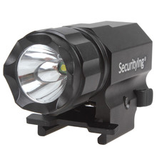 SecurityIng LED Tactical Flashlight  Black Torches Lamp 600 Lumens R5 Model P05