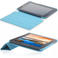 Luxury Tri Fold Ultra Slim Magnetic Folio Stand Holder PU Leather Case Cover For Lenovo Tab