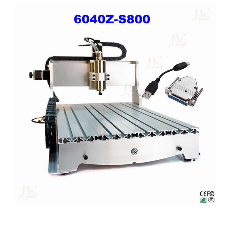 USB CNC Router Controller CNC 6040Z-S800 CNC engraving machine with 800W water cooling spindle Free tax to Russia cnc router 6040z s 800w spindle water cooled engraving drilling milling machine free tax to eu