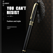 Hero 1501 Golden Eagle Fountain Pen Standard F nib Black bag packing high-grade gift pen(China)