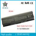 9 Células 11.1 v 7800 mah Alta Qualidade Bateria de Laptop Novo para Dell 1520 1521 1720 1500