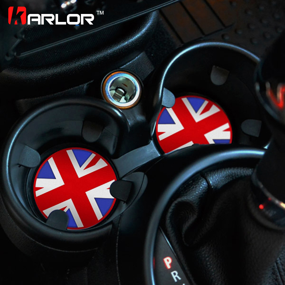 For Mini Cooper Useful Cup Shockproof Silicone Mats Non