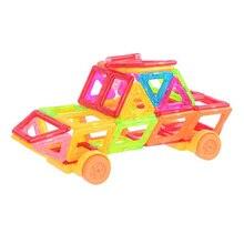 Mini Magnetic Kid Toy Stitching Blocks Various Shape Children Early Educational Creative Plastic Toys Enlighten Magnetic Blocks