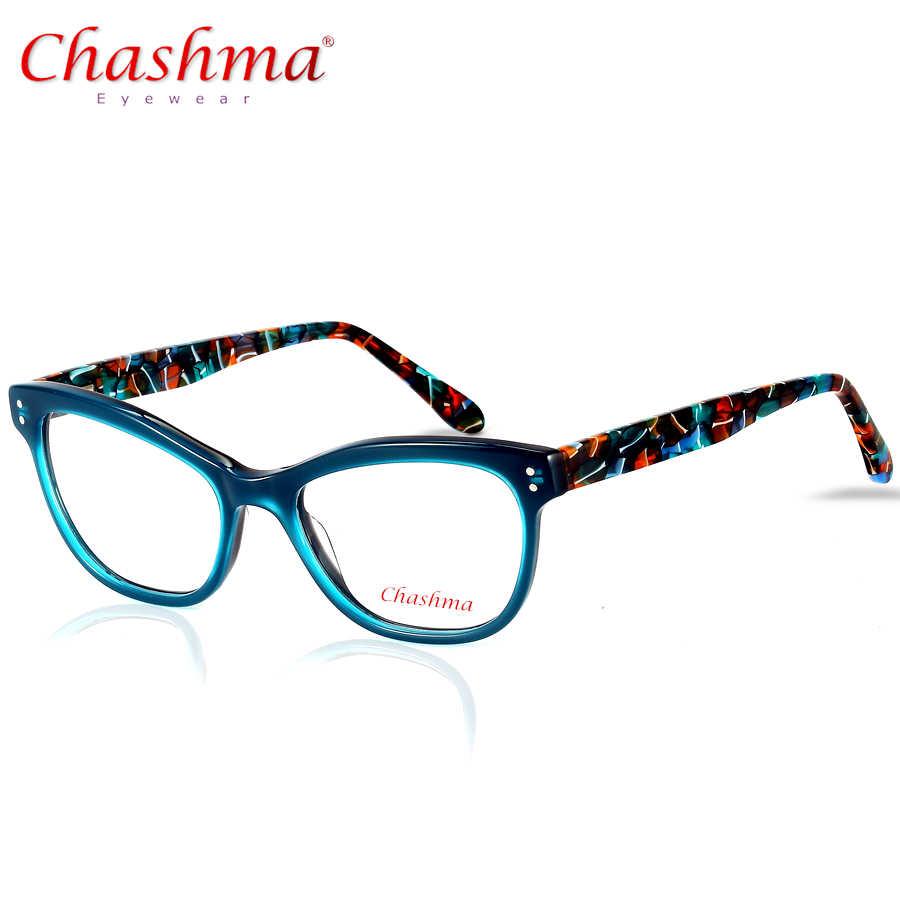 4bfba69661a Cat Eye Myopia Optical Frame Vintage Optical Glasses Frame Eyeglasses For  Men and Women Acetate Eyewear