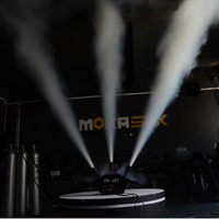 Nova fábrica vindo 3 cabeça de co2 jet canhão poderoso efeito estágio dmx máquina jato co2 placa controle à prova dwaterproof água pro válvula jato co2 Efeito de Iluminação de palco     -