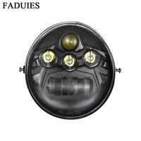 FADUIES 2017 Motorcycle Aluminum Headlight High/Low beam For Harley V Rod VROD VRSCA VRSC Headlight VRSC/V ROD LED HEADLIGHT