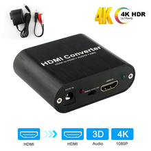 2018 4K HDMI Audio Extractor HDMI To HDMI And Optical TOSLINK SPDIF + 3.5mm Stereo Audio Extractor Converter HDMI Audio Splitter