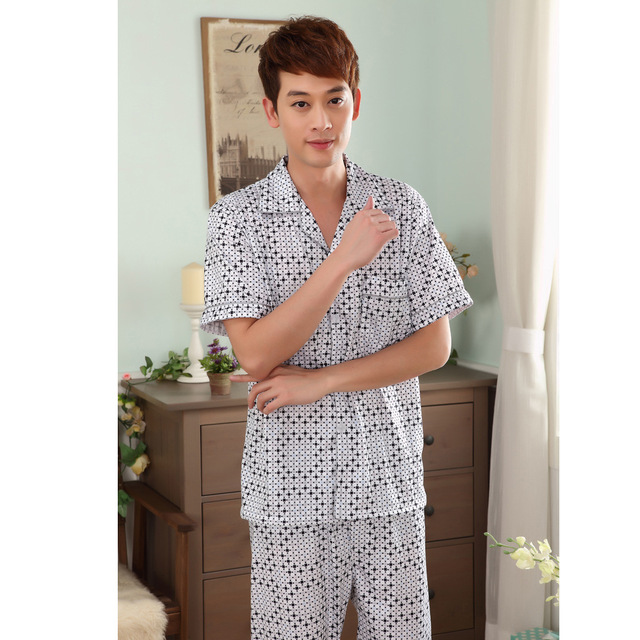 Manufacturers Selling Summer New Pajamas Men's Casual Wear Suit Hot Sale Undertakes