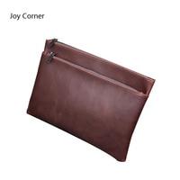 Joy Corner Paper Folder Corium For A4 Document Leather Folders Documents File Bag Document Storage Filing