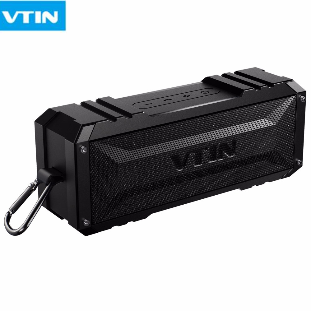 Professional VTIN Waterproof Bluetooth Speaker High Quality Wireless Speakers Sound Box Column Portable For Outdoor Climbing