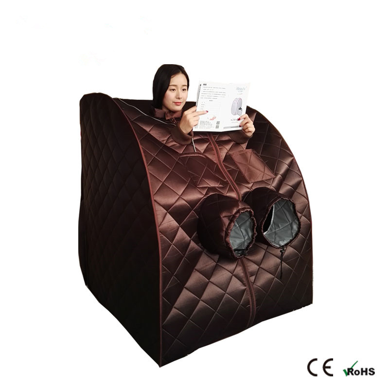 Far infrared Sauna Portable Infrared FAR Carbon Fiber Panels Personal XLarge Spa dry with Negative ION
